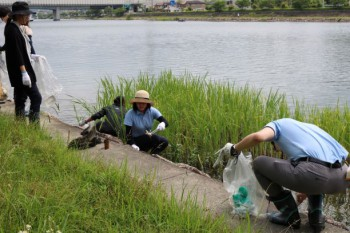 令和初の琵琶湖市民清掃を実施致しました。