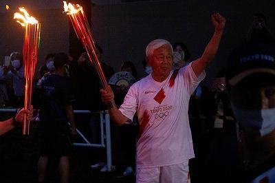弊社代表取締役 黒木が東京オリンピック聖火リレーを走りました。